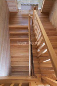 Лестница 2 марша с площадкой