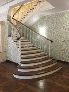 Лестницы в классическом стиле в доме
