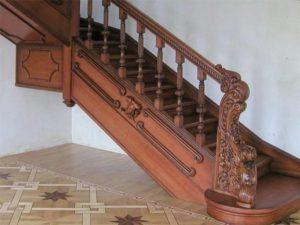Деревянные резные лестницы - цены
