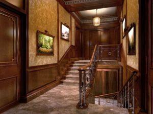 Лестницы в английском стиле