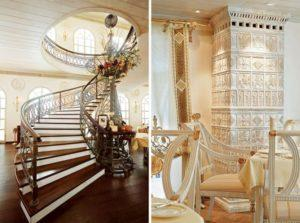 Лестницы в стиле ампир