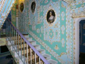 Лестницы в стиле рококо